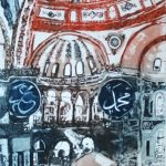 Interior of Saint Sophia, Istanbul_web