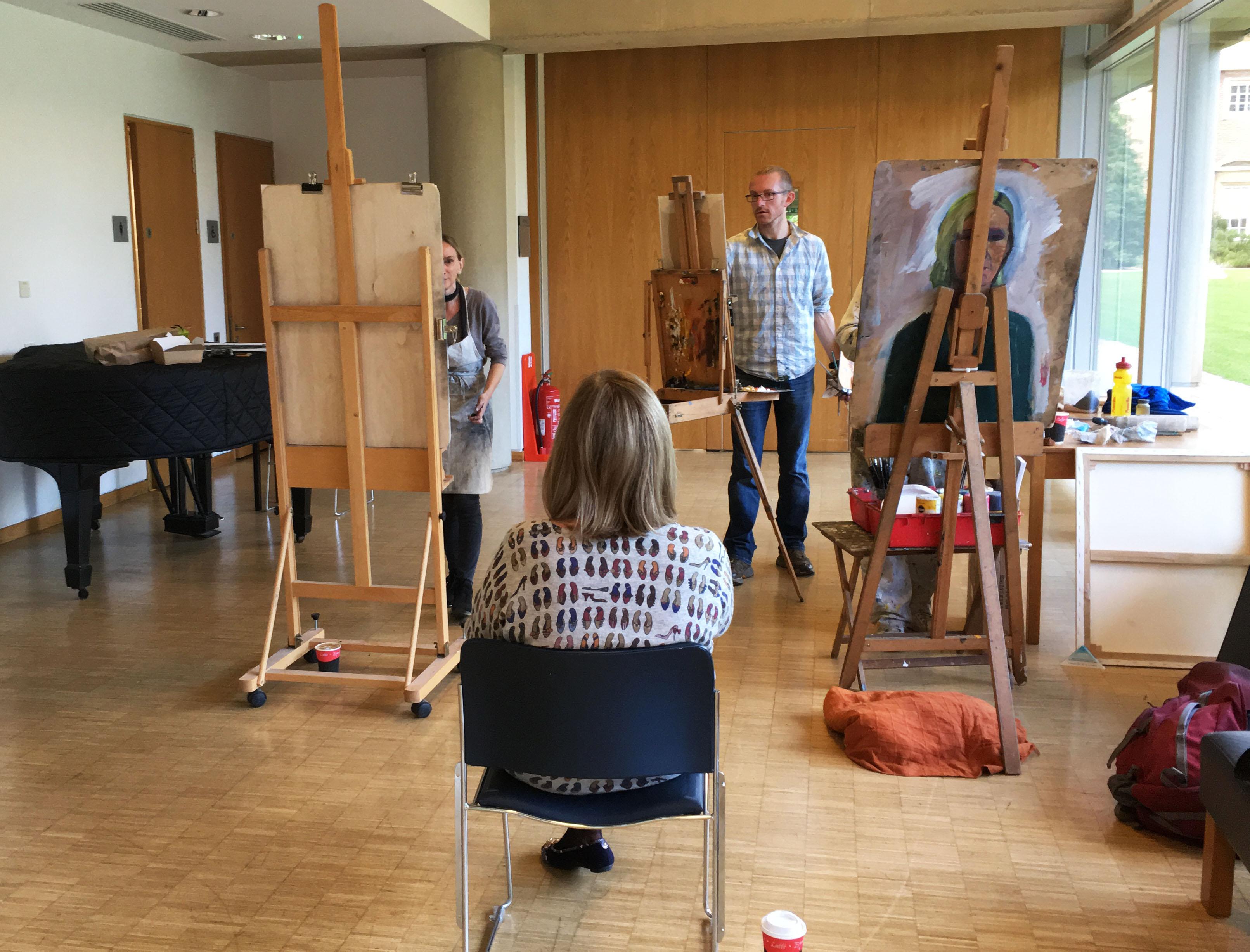 St Hugh's Portrait Class 1