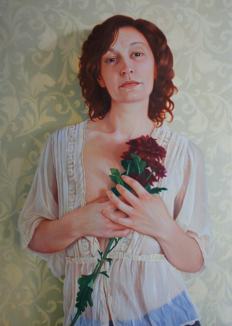 Andrew Brady - Dear Sally~A Portrait~49.5x69.5