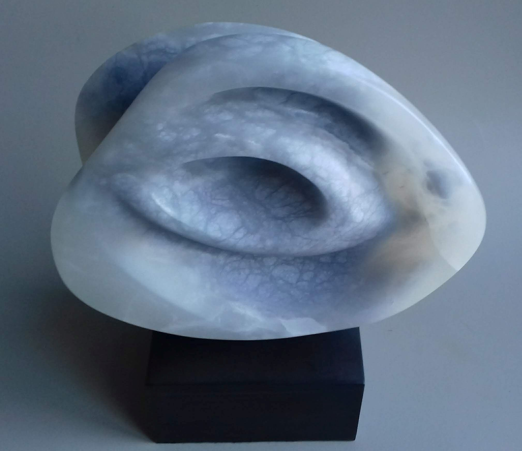 Elemental III Blue alabaster
