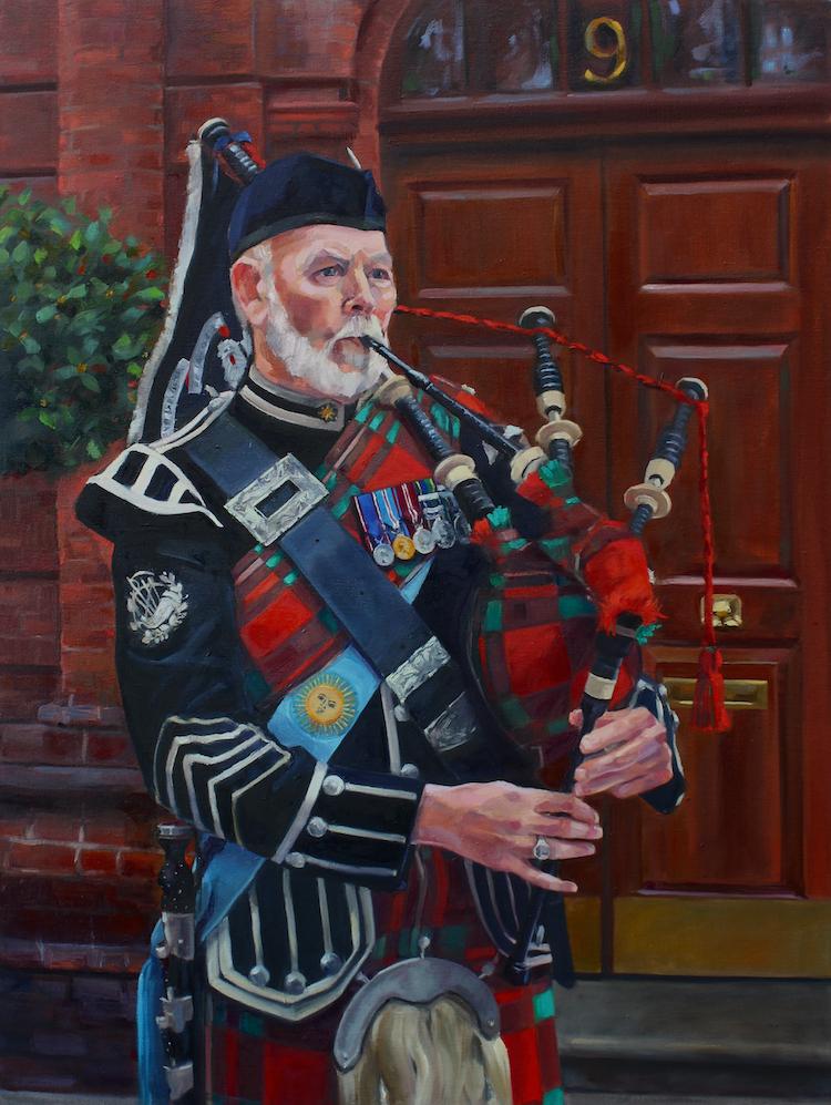 Pipe Major Ian King