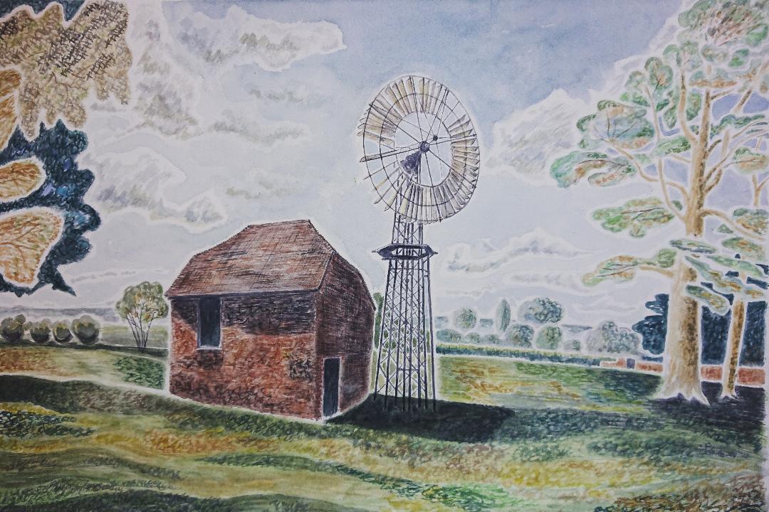 Wind Engine, Crux Easton, Hampshire