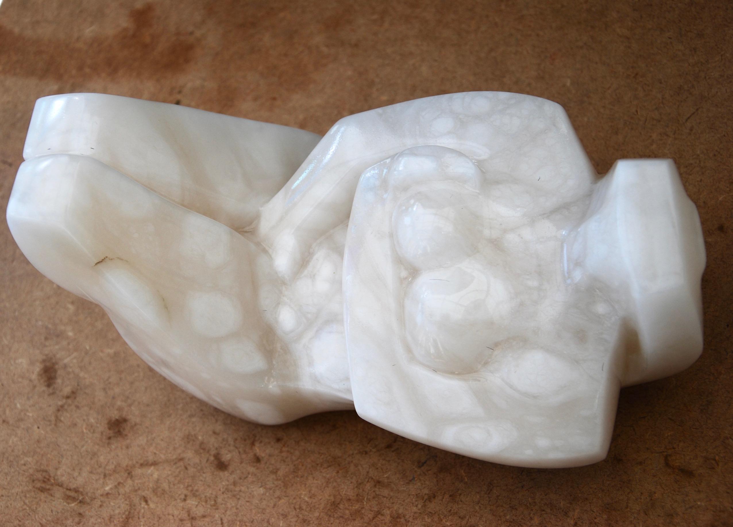 Cycladic figure, dreaming