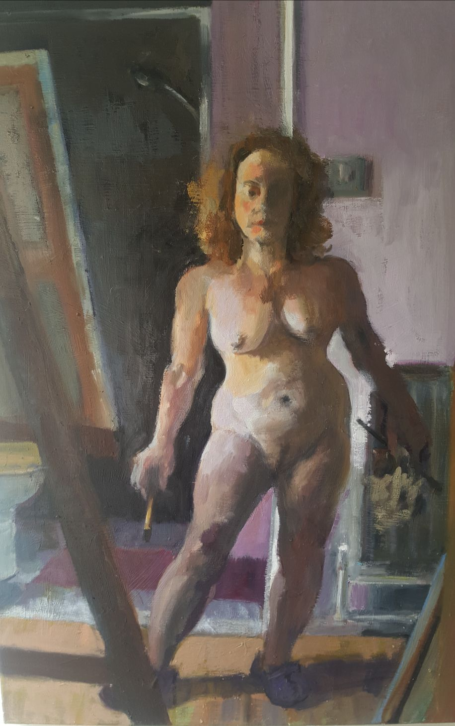 Nude Self portrait @ start of lockdown
