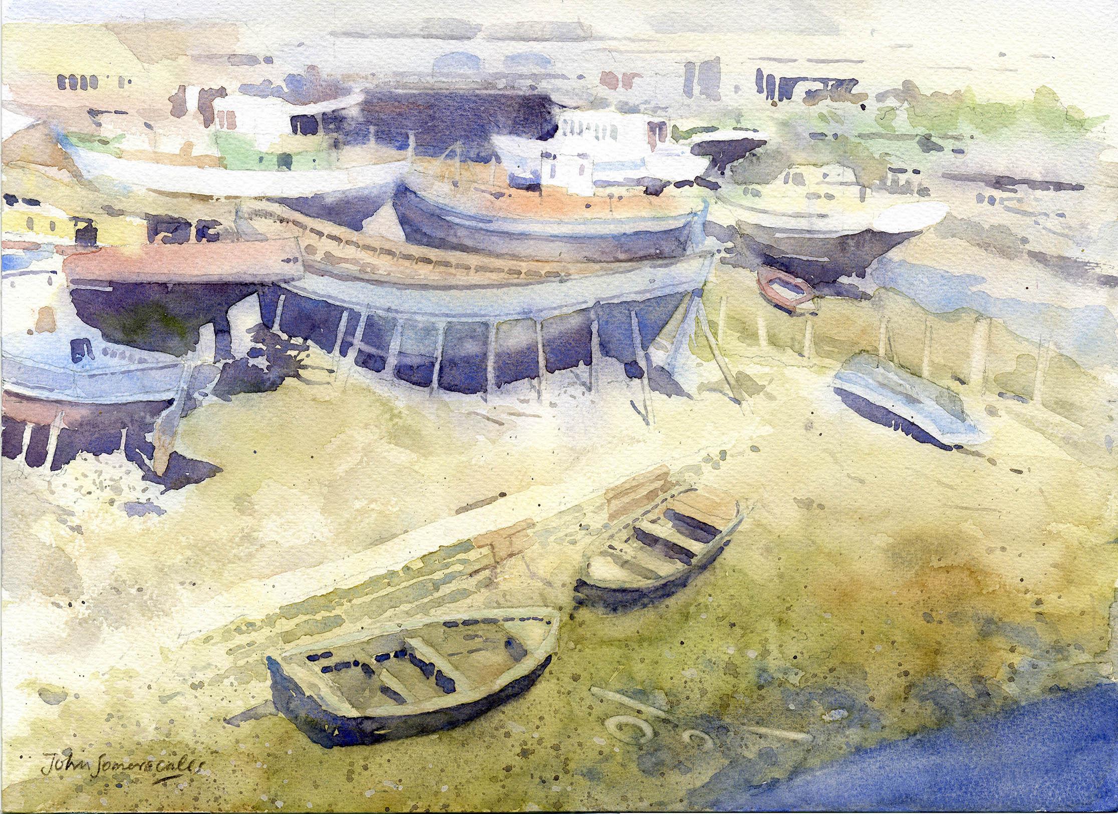Boatyard at Portimao