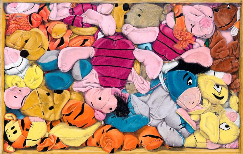 Squashed Pooh