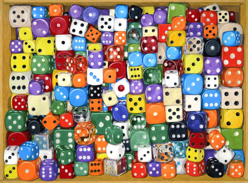 Squashed Dice