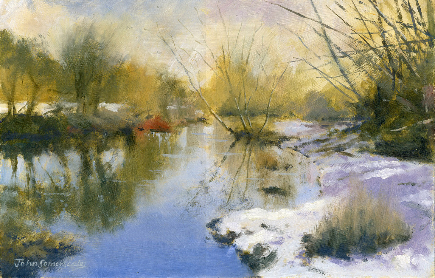 Winter on the Cherwell