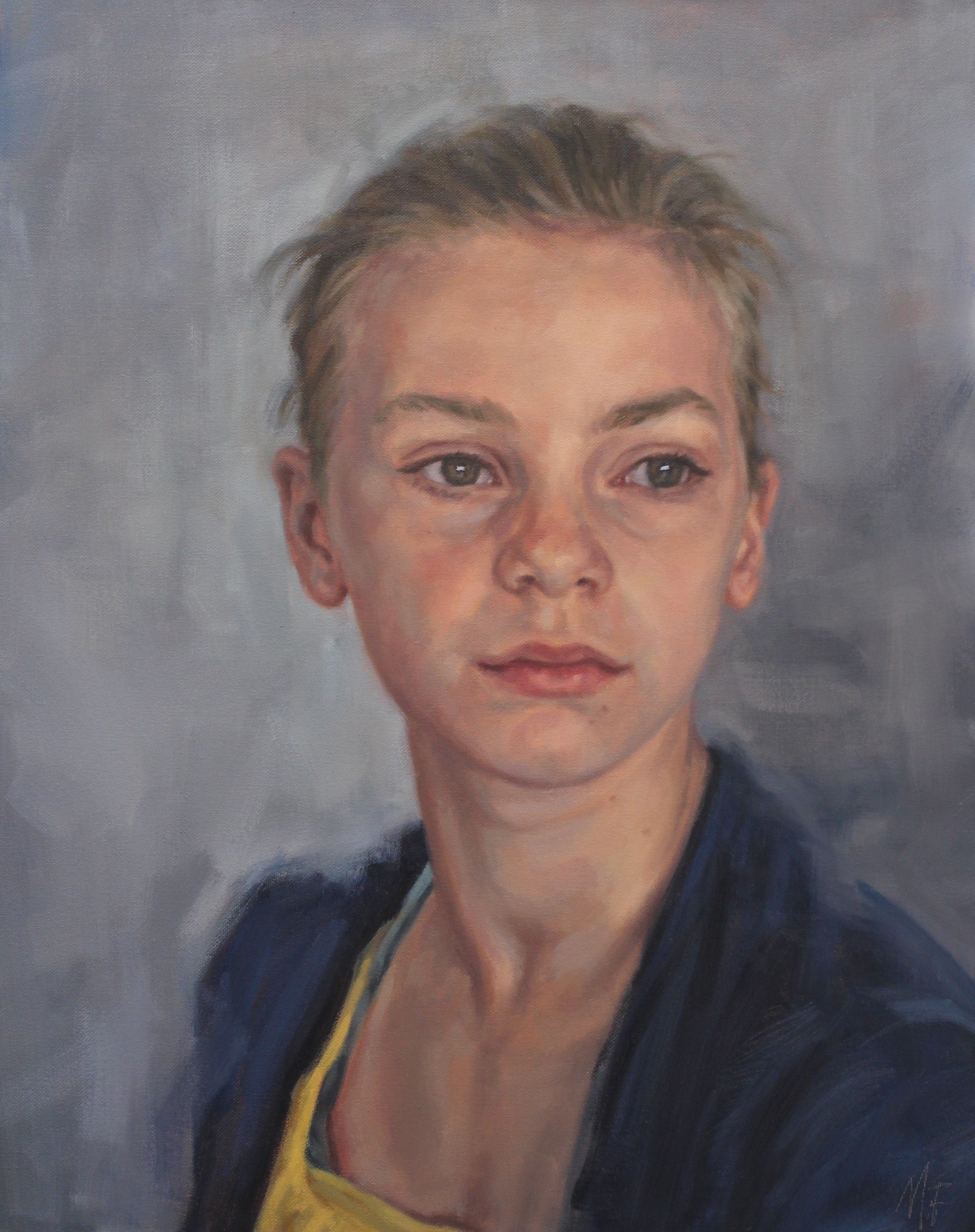 Annie – oil on canvas 50cm x 40cm