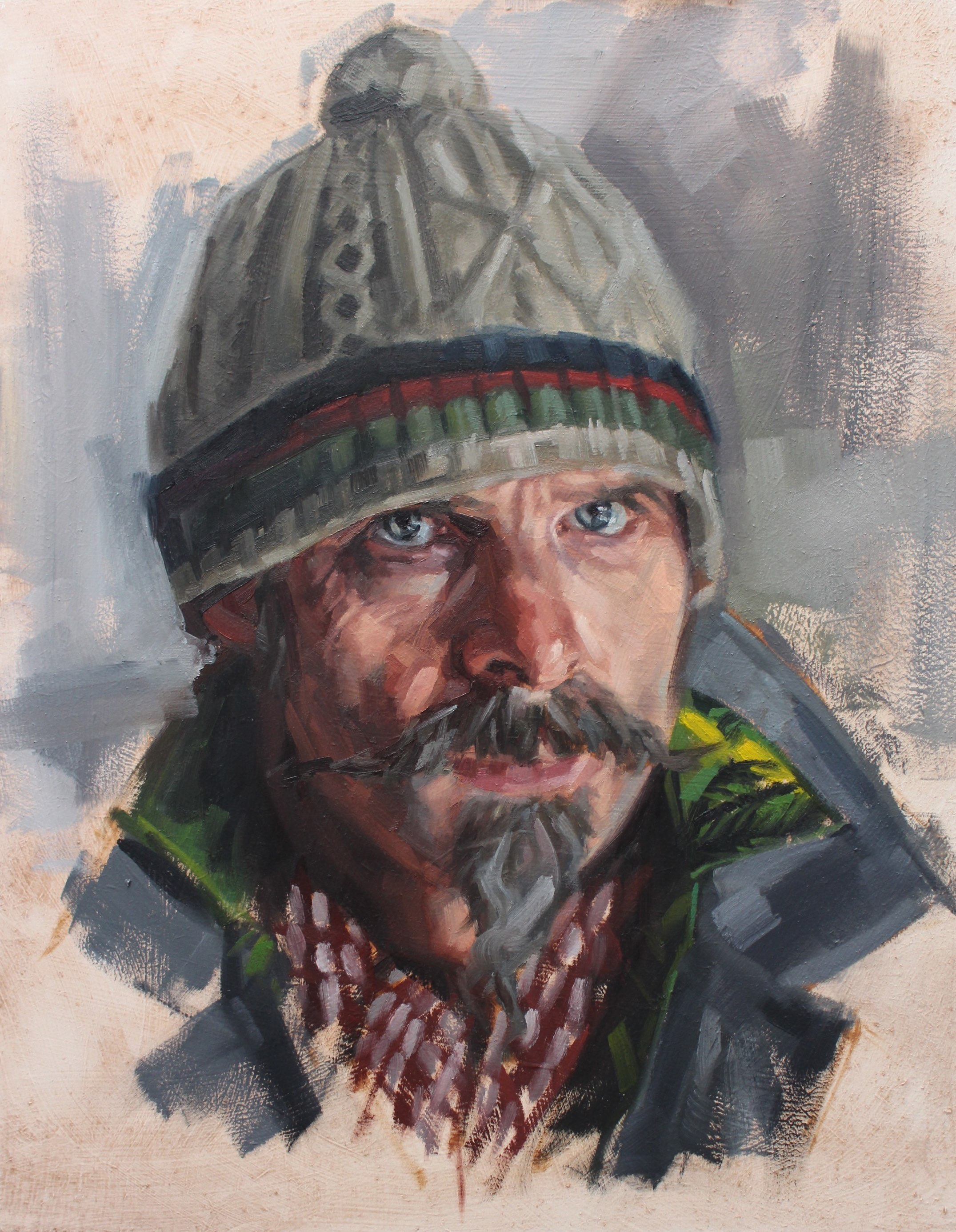 Walter – oil on board 40cm x 32cm