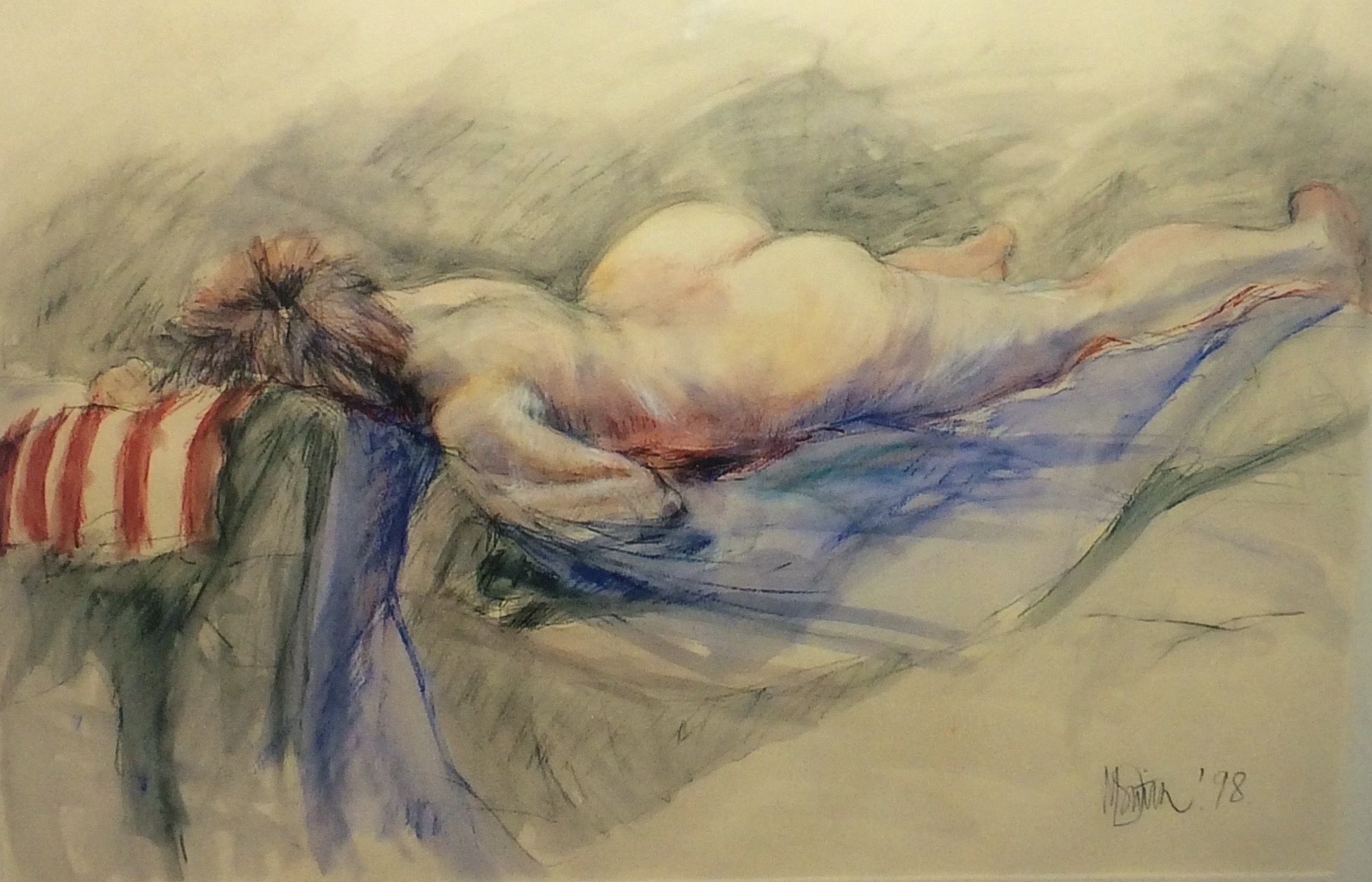 'Sleeping Nude'