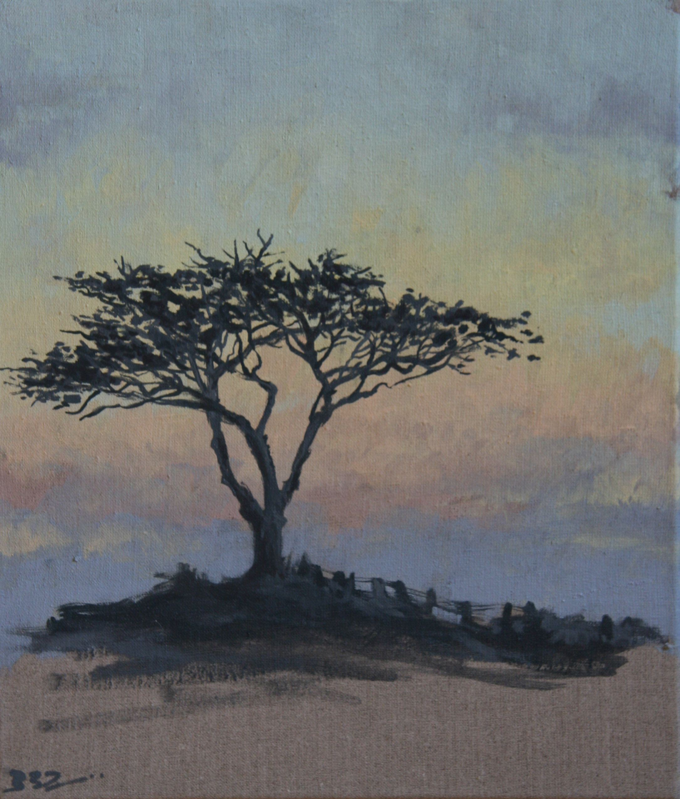 Quiet Evening Tree (Gower)