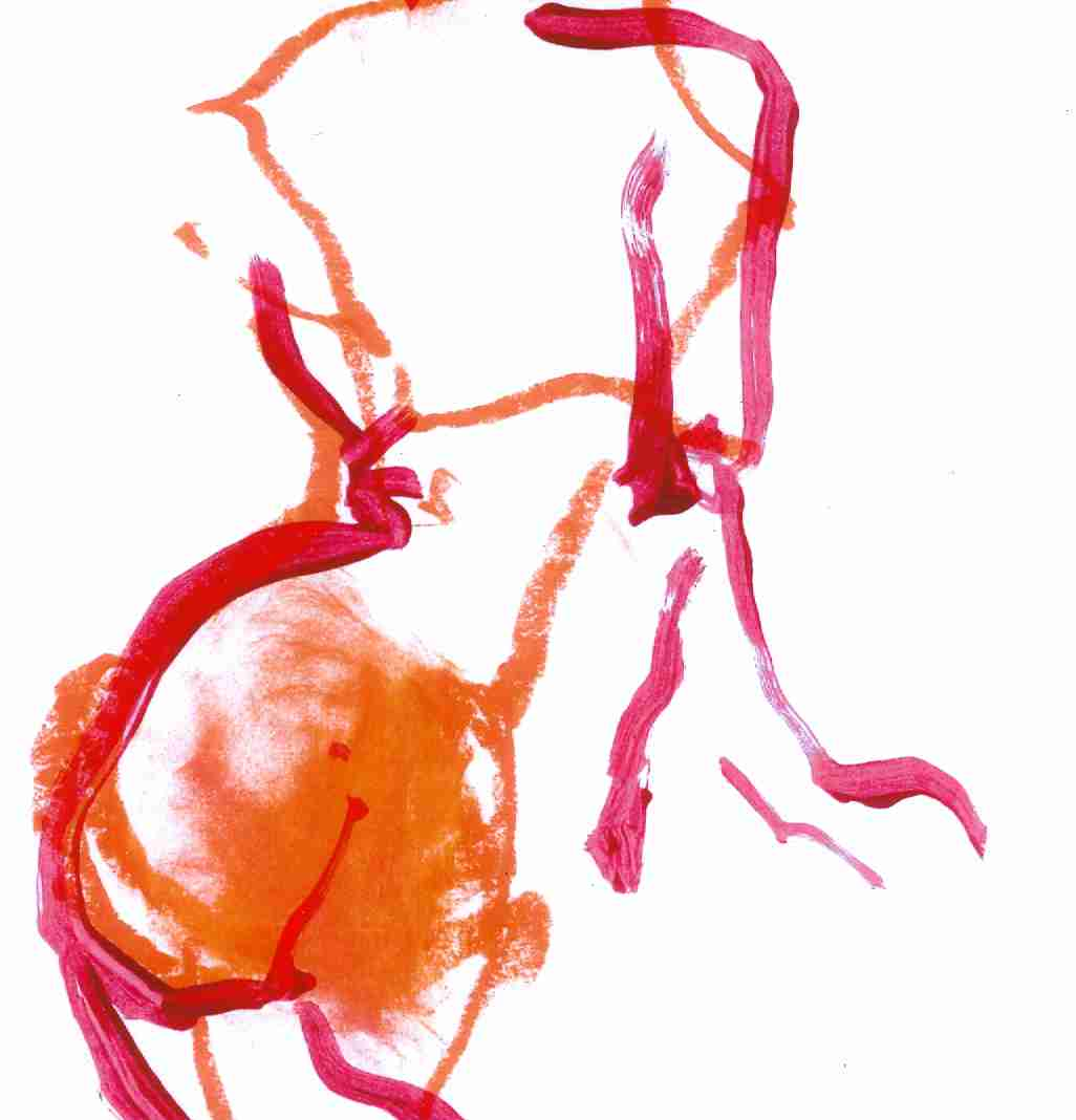 Le Derrière. Giclee print. 28x29. £70 inc. free uk delivery