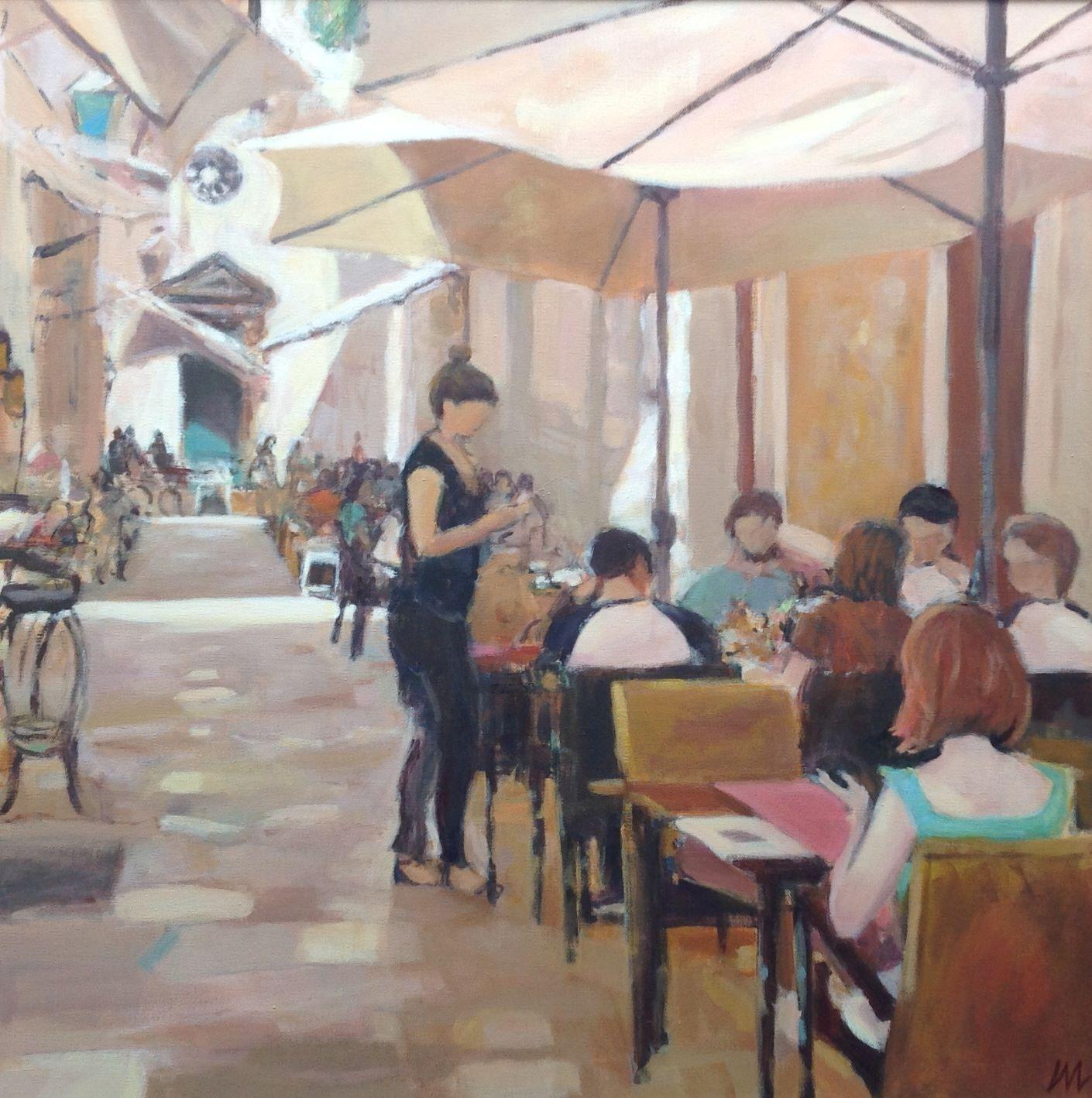 Back street café, Dubrovnik