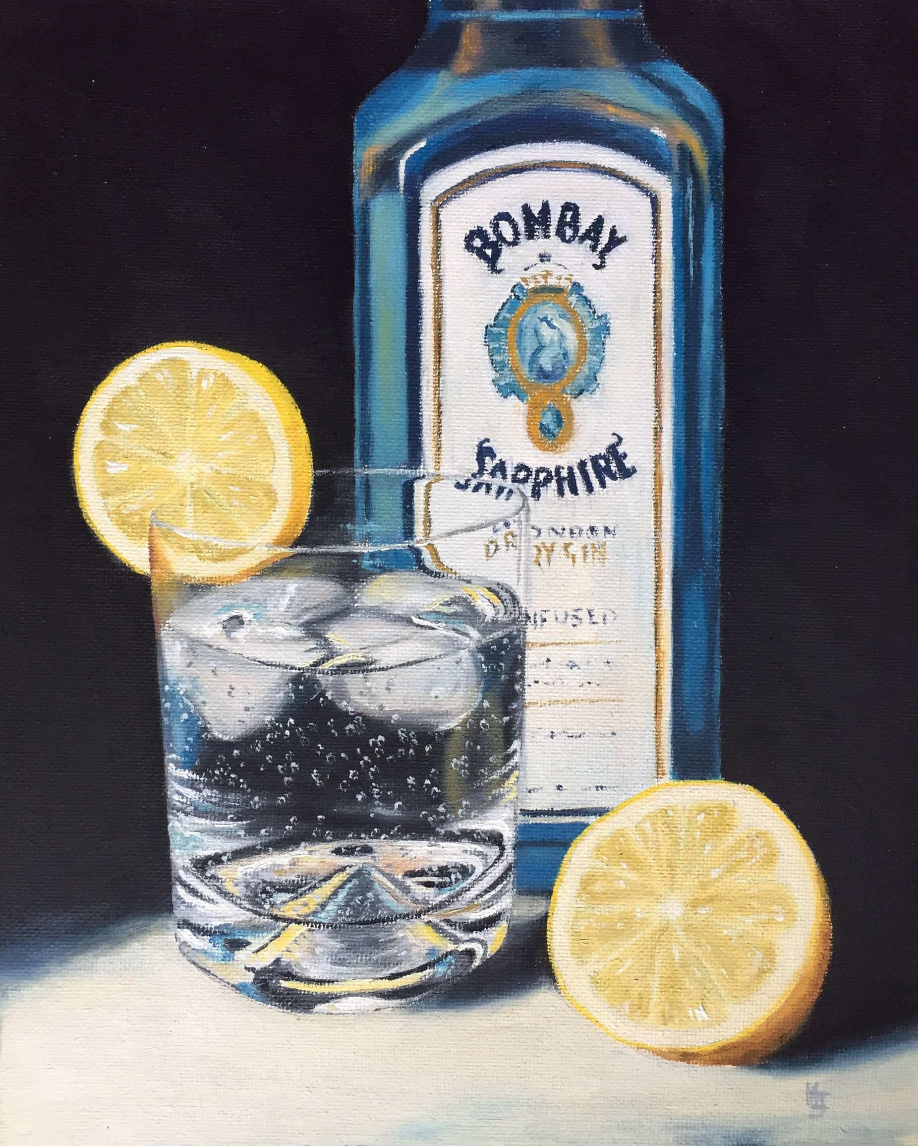 Bombay Sapphire G&T